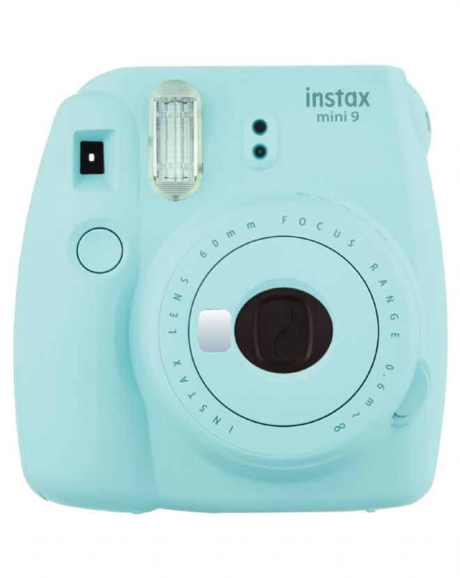 Fujifilm Instax Mini 9 Ice Blue Instant Camera inc 10 Shots